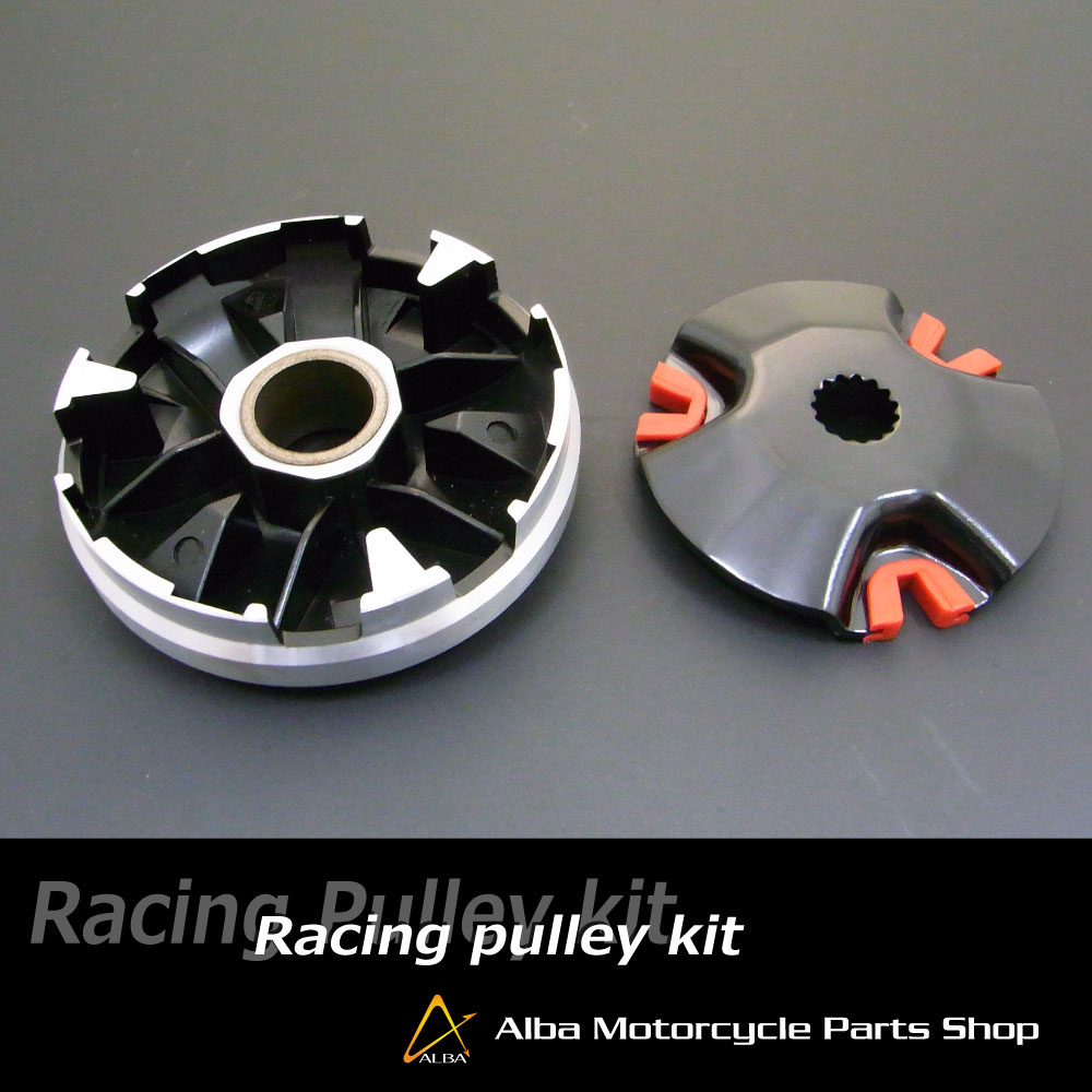 【ALBA】黑色鐵氟龍高速普利盤套件 - 「Webike-摩托百貨」