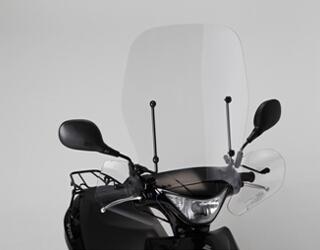 【旭風防】把手護弓一體式大型擋風鏡 - 「Webike-摩托百貨」