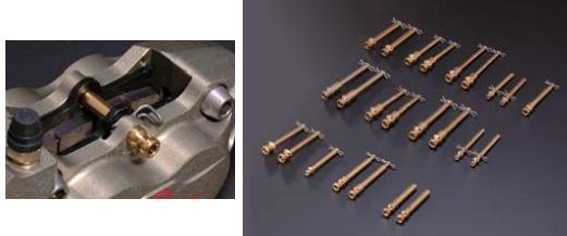 【N PROJECT】不銹鋼煞車皮導銷(氮化鈦) Jt-型 - 「Webike-摩托百貨」