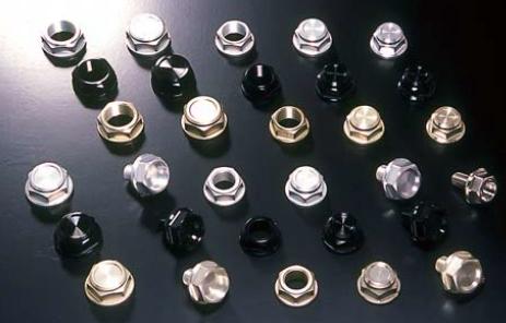 【N PROJECT】上三角台中心螺絲 G-型 (M20XP1.5) 黑 - 「Webike-摩托百貨」
