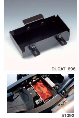 【N PROJECT】DUCATI MONSTER696用 置物盒 - 「Webike-摩托百貨」