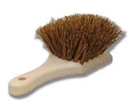 Natural Palm Tire Brush