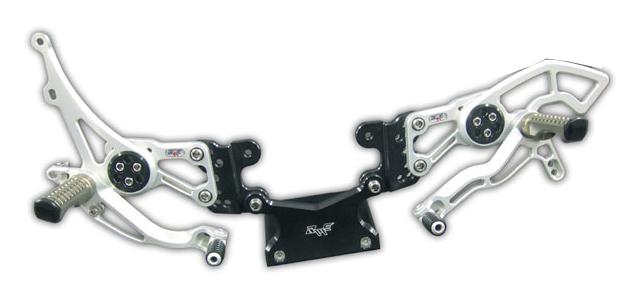 【Robby Moto Engineering】Race Model 腳踏後移套件  - 「Webike-摩托百貨」