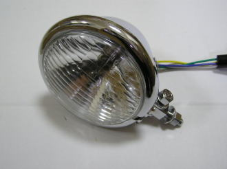【KN企劃】 通用型  Bates Type 頭燈 (電鍍) - 「Webike-摩托百貨」