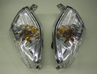 【KN企劃】晶鑽型前透明方向燈總成 - 「Webike-摩托百貨」