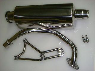 【KN企劃】鏡面型全段排氣管 - 「Webike-摩托百貨」