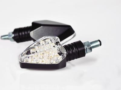 【KN企劃】【STARTECH】通用型 LED方向燈 A Type  (短/透明燈殼/黑色背蓋) - 「Webike-摩托百貨」