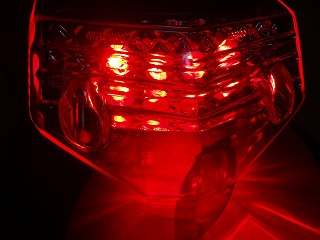【KN企劃】【STARTECH】通用型 LED尾燈 (紅色燈殼) - 「Webike-摩托百貨」