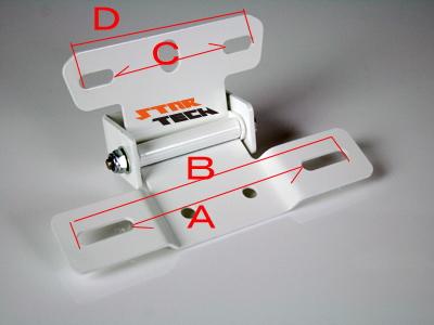 【KN企劃】【STARTECH】通用型 LED尾燈支架 (黑色) - 「Webike-摩托百貨」