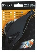 【KN企劃】輪框反光貼紙組 7mm*6m【螢光橘色】【KEITI】 - 「Webike-摩托百貨」