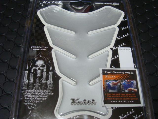 【KN企劃】KEITI油箱貼片(銀色) - 「Webike-摩托百貨」