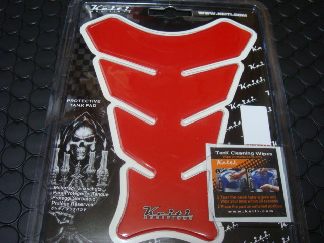 【KN企劃】KEITI油箱貼片(紅色) - 「Webike-摩托百貨」