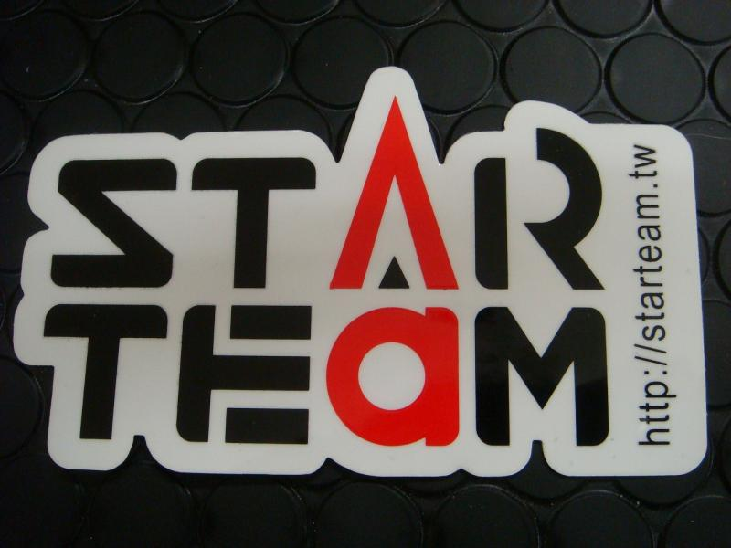 【KN企劃】STARTEAM貼紙 65mm*110mm - 「Webike-摩托百貨」