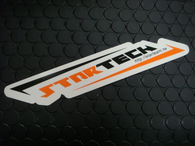 【KN企劃】STARTECH 貼紙 37mm*200mm - 「Webike-摩托百貨」
