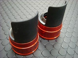 【KN企劃】Cygnus X 【台灣版33φ】 BWS125 鋁合金前叉防塵蓋蓋【橙色】 - 「Webike-摩托百貨」