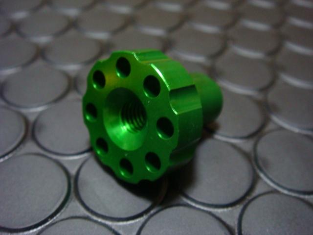 【KN企劃】煞車調整螺絲 (綠色) - 「Webike-摩托百貨」