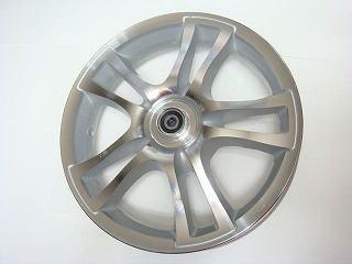 【KN企劃】ADDRESSV125 鑄造輪框 前後組【銀色】 K1-K9 - 「Webike-摩托百貨」