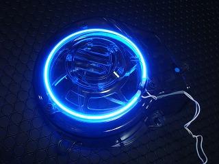 【KN企劃】風扇蓋 【CygnusX /透明藍色】 - 「Webike-摩托百貨」