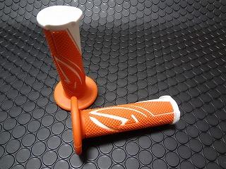 【KN企劃】BCD 握把套 【橘色/白色】 - 「Webike-摩托百貨」