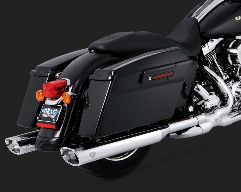 【VANCE&HINES】MONSTER OVAL 排氣管尾段 (鍍鉻) - 「Webike-摩托百貨」