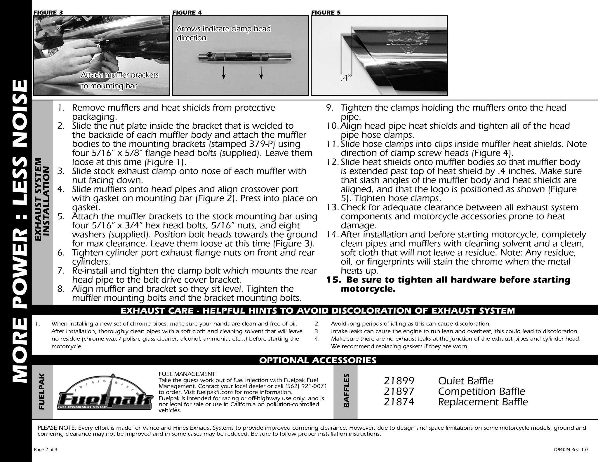 【VANCE&HINES】3吋 TWIN SLASH 排氣管尾段 - 「Webike-摩托百貨」