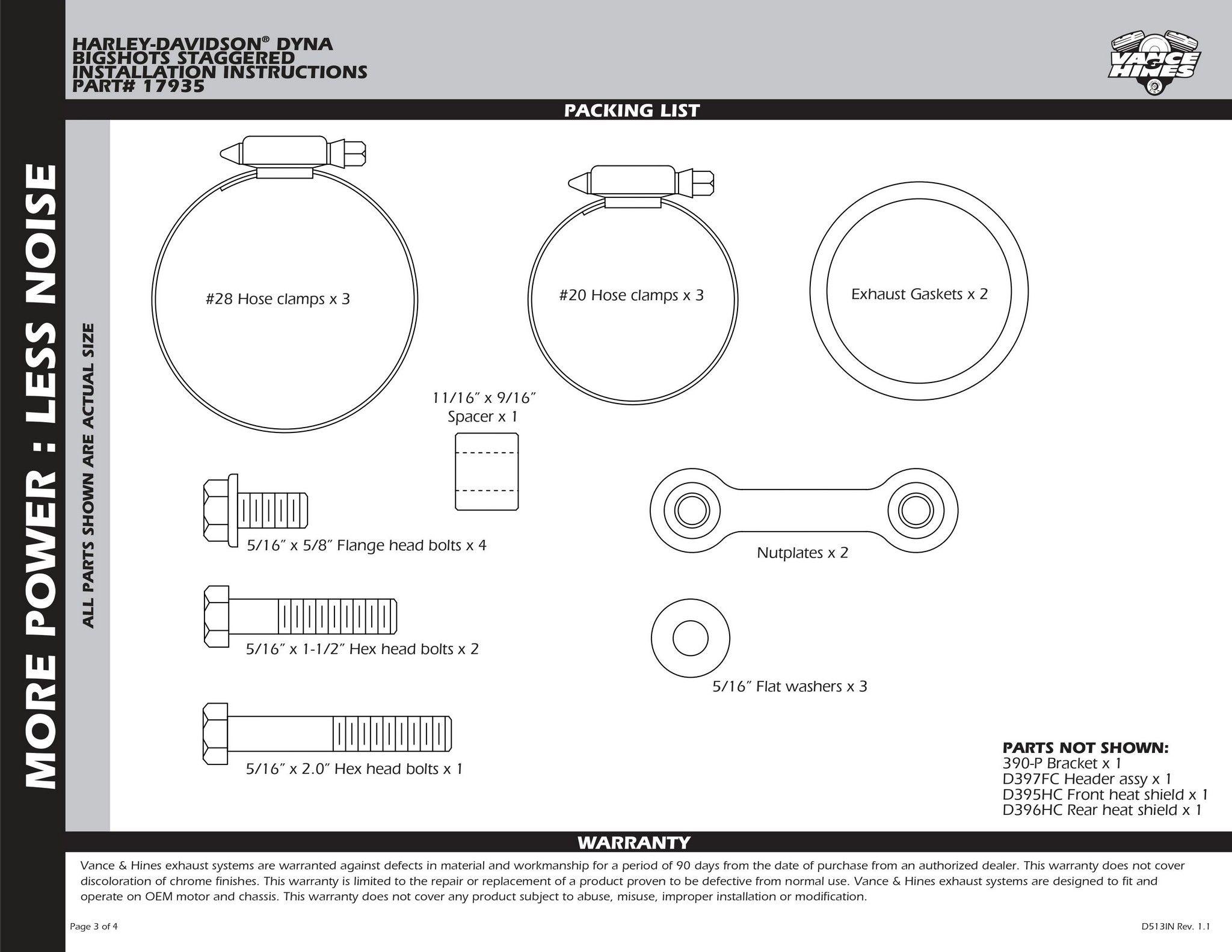 【VANCE&HINES】BIG SHOTS STAGGERED 全段排氣管 - 「Webike-摩托百貨」