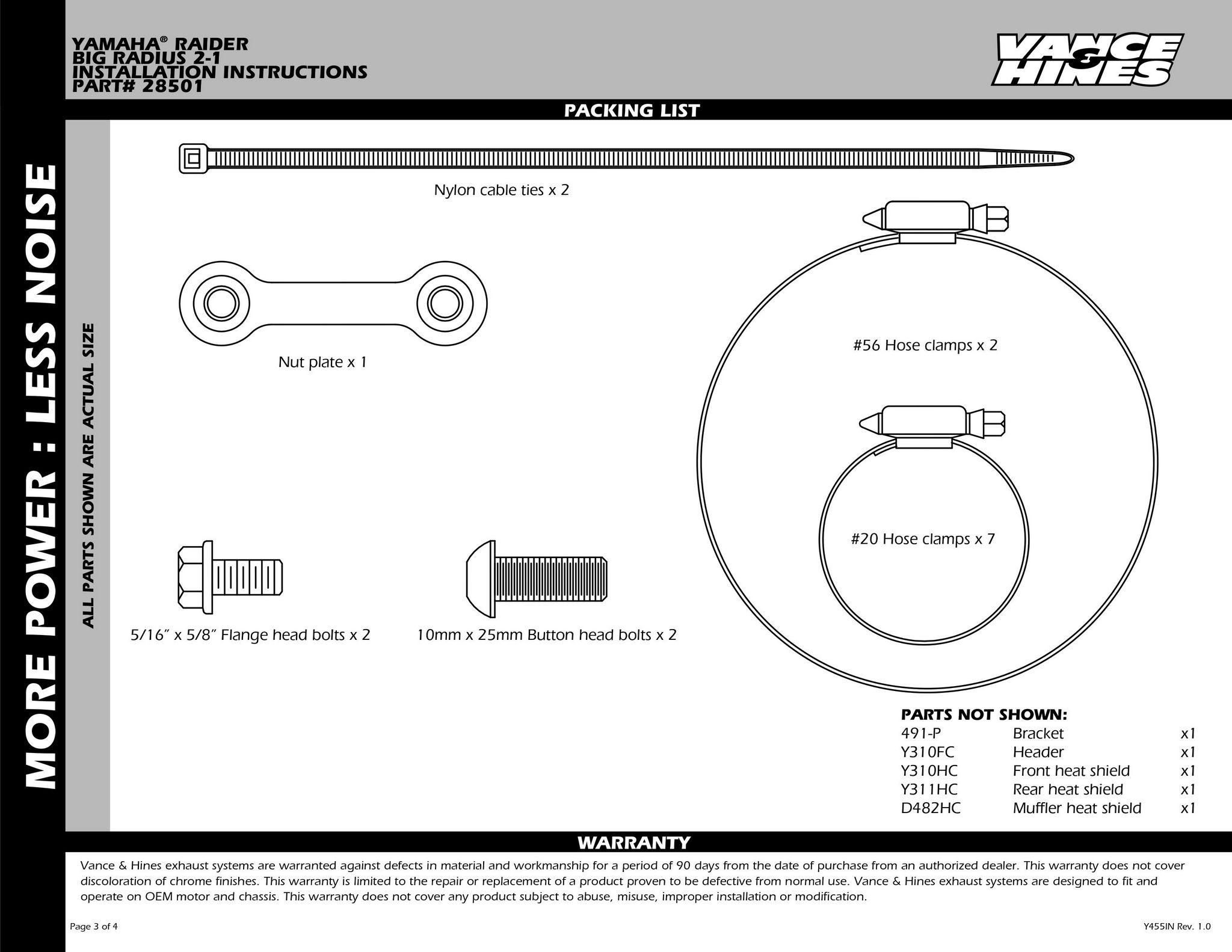 VANCE&HINES バンス&ハインズ:ビッグラディウス 2-INTO-1 フルエキゾーストマフラー(BIG RADIUS 2-INTO-1)