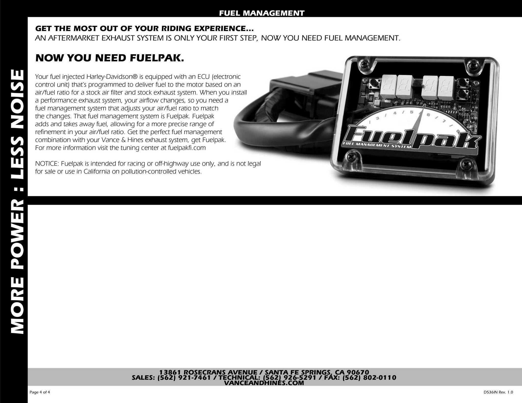【VANCE&HINES】SIDESHOTS BLACK全段排氣管 - 「Webike-摩托百貨」
