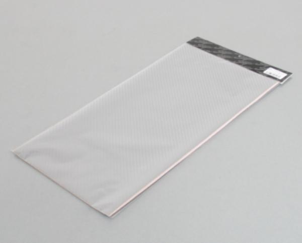 【STAGE】Elmard 碳纖維樣式單片貼紙 銀 250mm×500mm - 「Webike-摩托百貨」