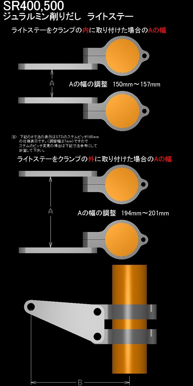 【BORE ACE】頭燈支架 - 「Webike-摩托百貨」