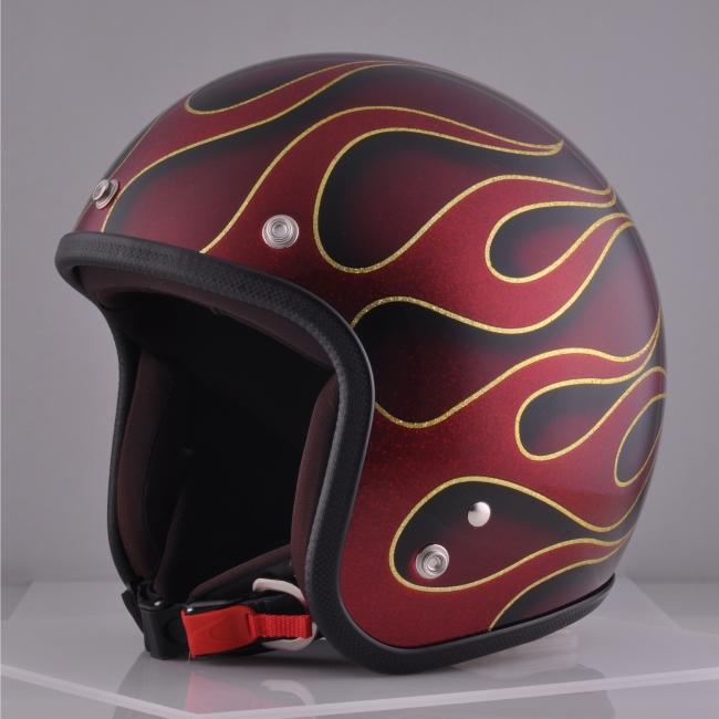 【72JAM】jam特殊彩繪款式四分之三安全帽 flames - 「Webike-摩托百貨」