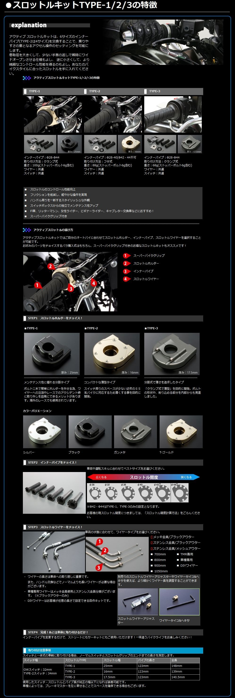 【ACTIVE】Type-3 快速油門組 (車種專用) - 「Webike-摩托百貨」