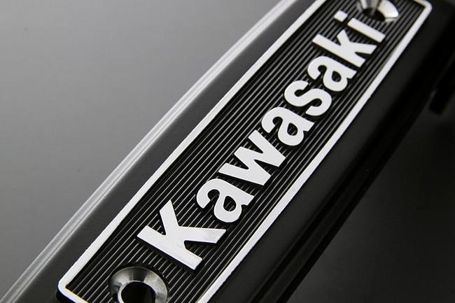 【PMC】不銹鋼銘版系列 Kawasaki Type (黑色 /鍍鉻) - 「Webike-摩托百貨」