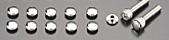 【PMC】平頭螺絲用插槽蓋組 6mm - 「Webike-摩托百貨」