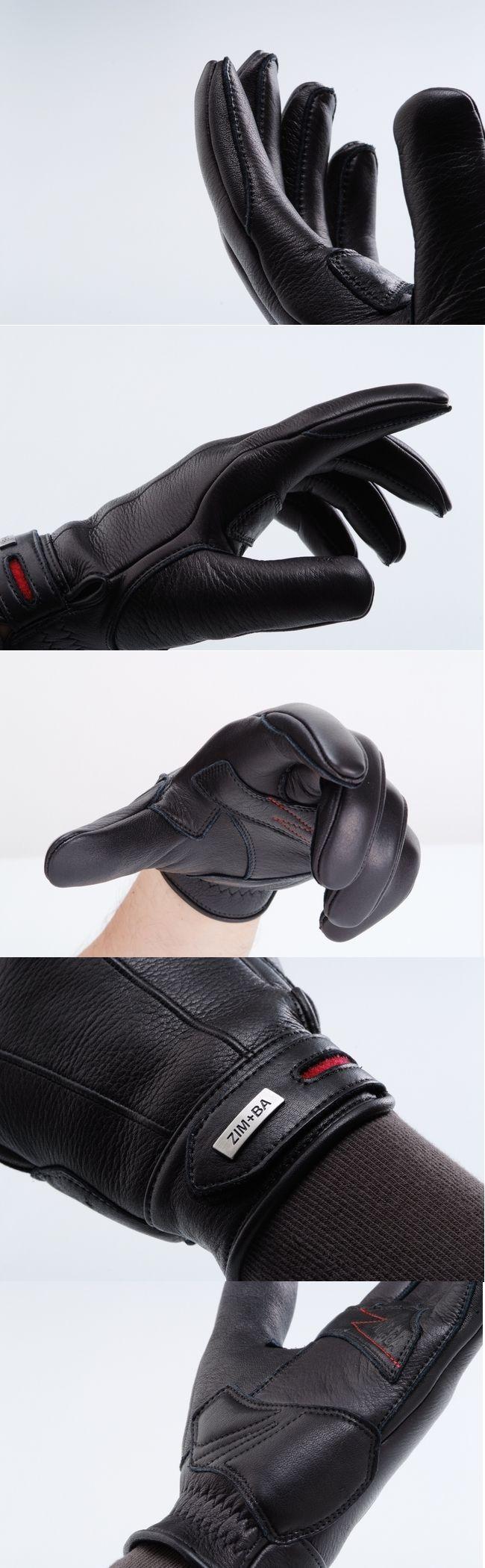 【ZIMBA】皮革手套 - 「Webike-摩托百貨」