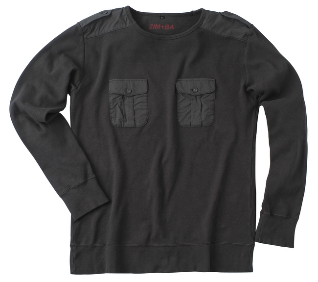 【ZIMBA】Pocket 口袋長袖T恤 - 「Webike-摩托百貨」