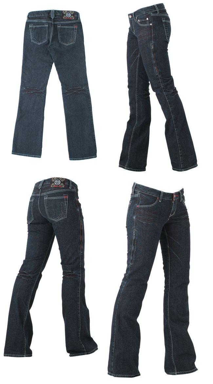 【ZIMBA】女用半靴型丹寧牛仔褲 - 「Webike-摩托百貨」