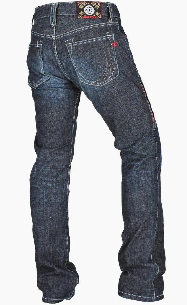 【ZIMBA】直筒丹寧牛仔褲 - 「Webike-摩托百貨」