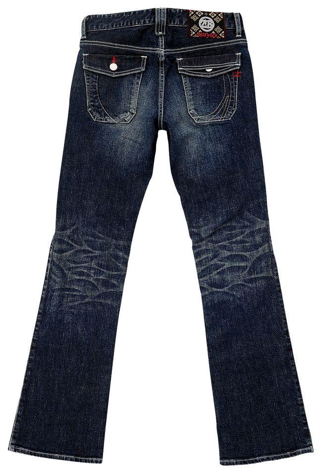 【ZIMBA】Flap Pocket丹寧牛仔褲 4011 - 「Webike-摩托百貨」