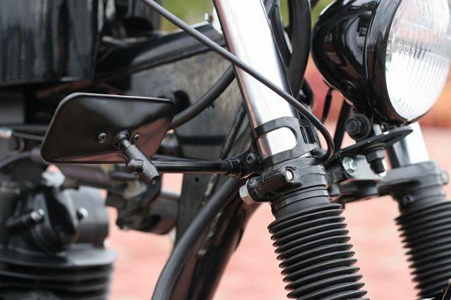 【GOODS】夾式方向燈支架 鍍鉻 - 「Webike-摩托百貨」