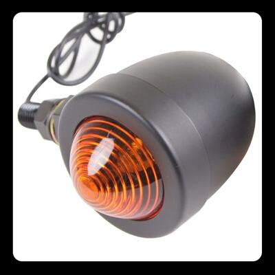 【GOODS】Small Bullet 方向燈 黑色 [琥珀色] - 「Webike-摩托百貨」