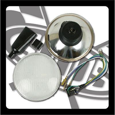 【GOODS】5-3/4吋 Bates Type 頭燈用 頭燈單元 - 「Webike-摩托百貨」