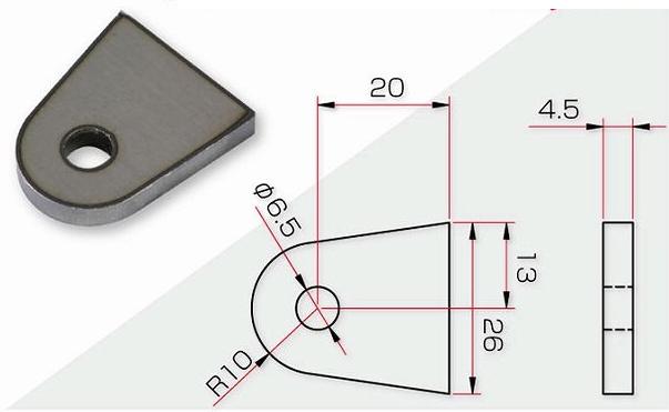 【GOODS】焊接型支架 - 「Webike-摩托百貨」