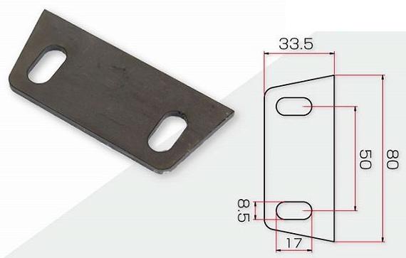 【GOODS】焊接型支架 寬板 - 「Webike-摩托百貨」