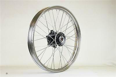 【GOODS】21吋 MT 鍍鉻不銹鋼鋼絲套件 - 「Webike-摩托百貨」