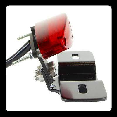 【GOODS】LED 紅色橢圓型尾燈 土除支架套件 - 「Webike-摩托百貨」