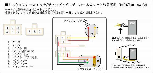 【GOODS】Mini 方向燈&Dip 開關用 接頭線束 - 「Webike-摩托百貨」