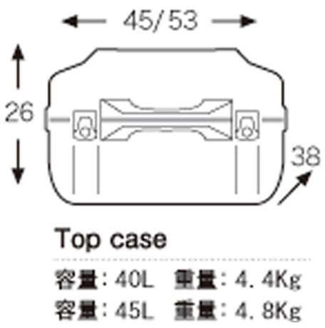 【HEPCO&BECKER】Junior後箱40 - 「Webike-摩托百貨」