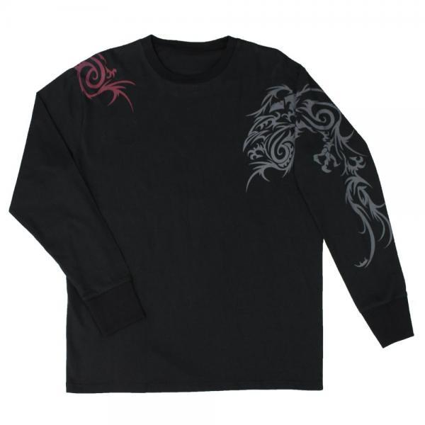【貳黑堂】長袖T恤 鴉 - 「Webike-摩托百貨」