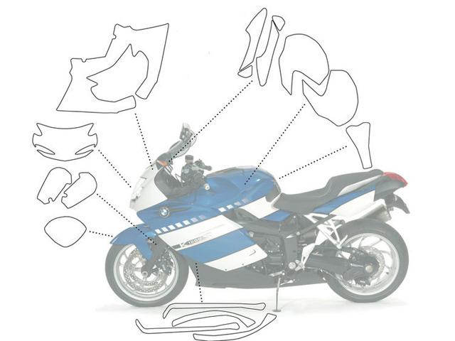 【Wunderlich】透明保護貼 (完整組) - 「Webike-摩托百貨」